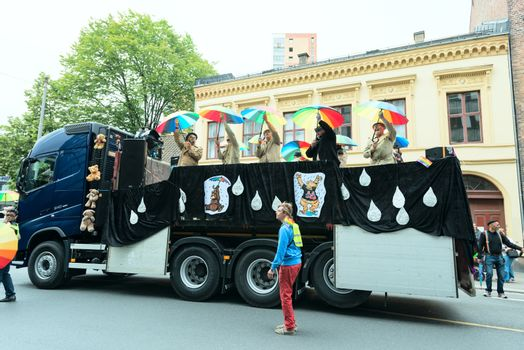 Europride parade in Oslo norwaybears