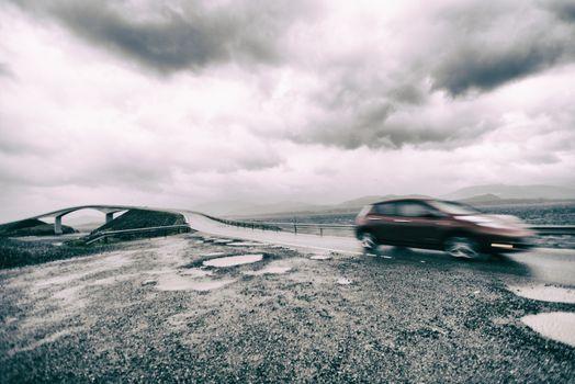 Atlanterhavsvegen or Atlantic road