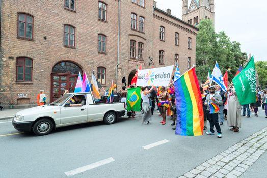 Europride parade in Oslo queer