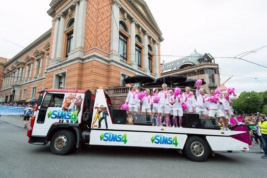 Europride parade in Oslo sims4
