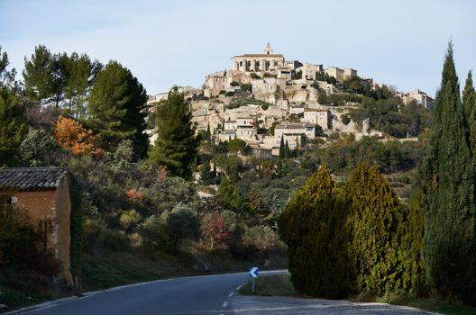 Village of Gordes in Provence
