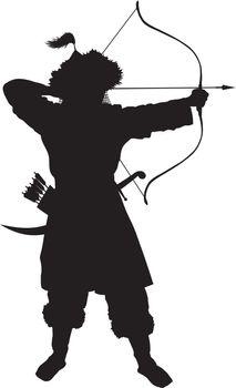 Oriental  archer. Warriors Theme
