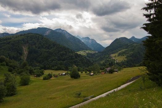 Beautiful landscape in the Dolomites,Sudtirol, Italy,Europe