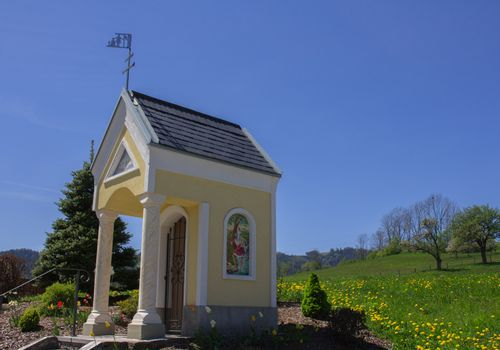 Typical chapel from the Lavant Valley,Austria