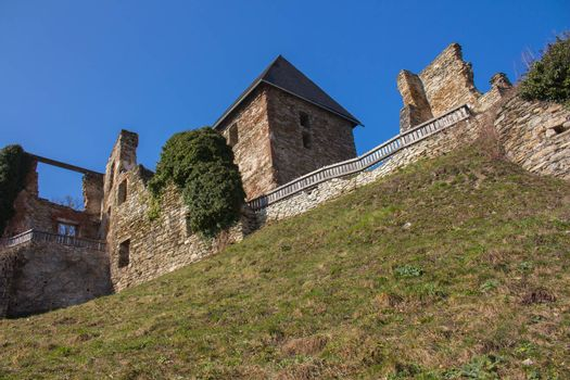 Ligist medieval castle in Styria,Austria
