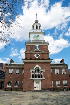 Independence Hall in Philadelphia USA