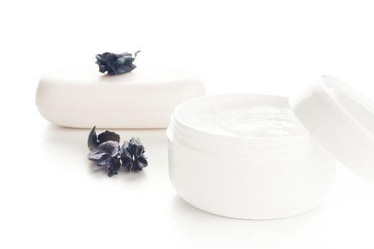 cream and soap