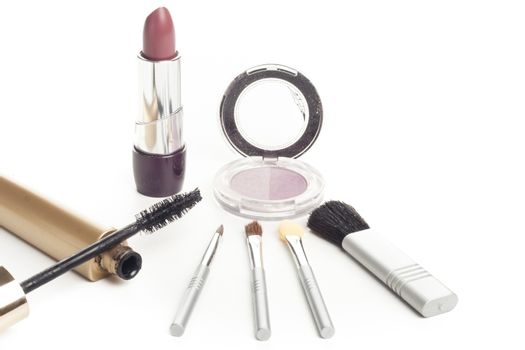 facial cosmetics set