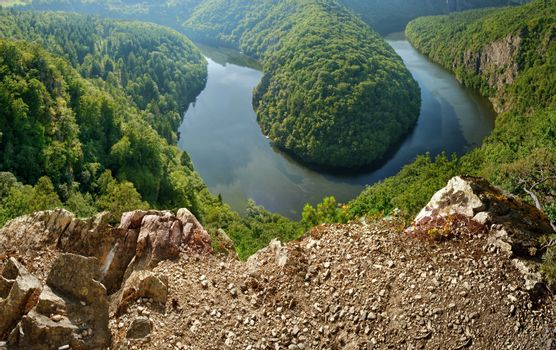 Viewpoint of the Vltava river