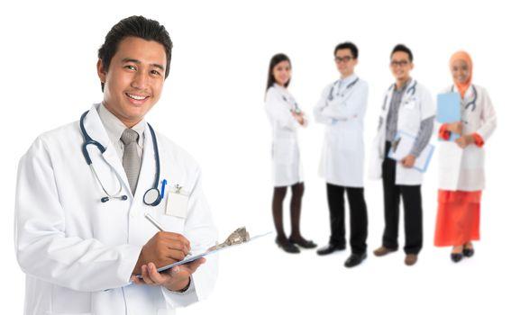 Southeast Asian doctors