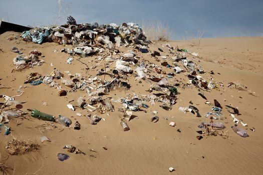 Unauthorized garbage dump