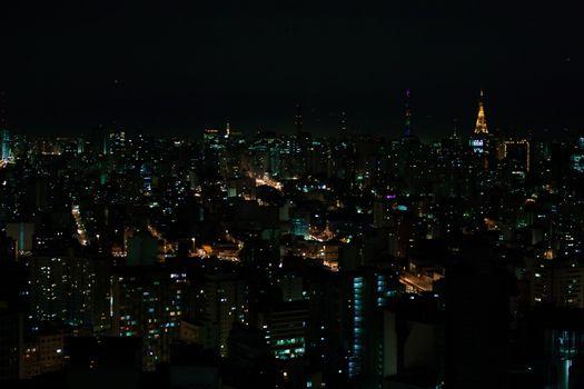 Sao Paulo night time