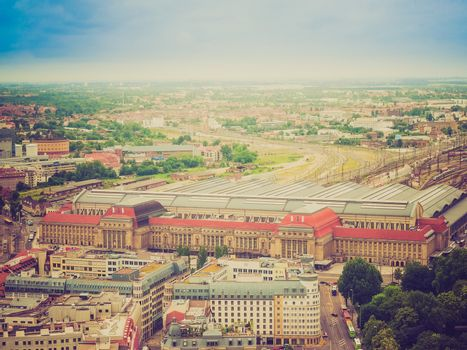 Leipzig aerial view