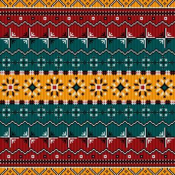 Balkan style ethno country carpet