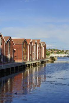 Fishermen Houses (Hudiksvall)