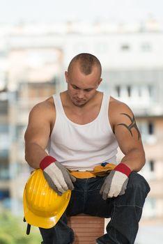 Lazy Man On Construction