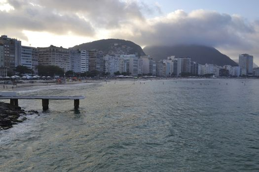 Copacabana Beach, Rio de Janeiro - Brazil