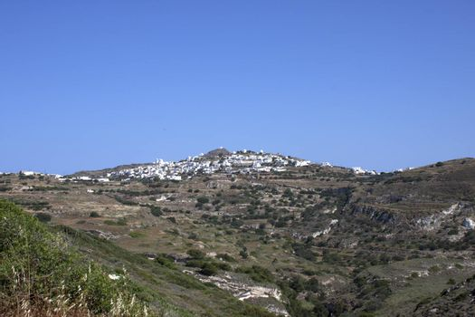 Typical Cycladic town