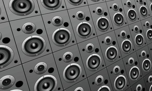 loud speakers wallpaper