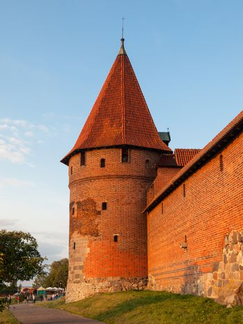 Fortification towers in Malbork
