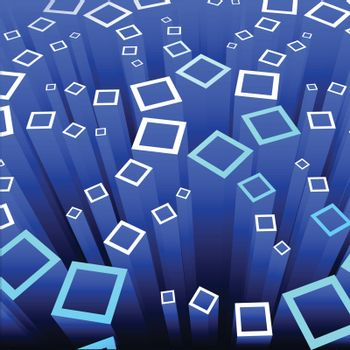 Abstract technology design, blue scientific background