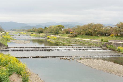 Scenery of Kamogawa
