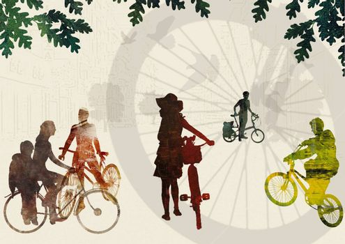 People and Bikes
