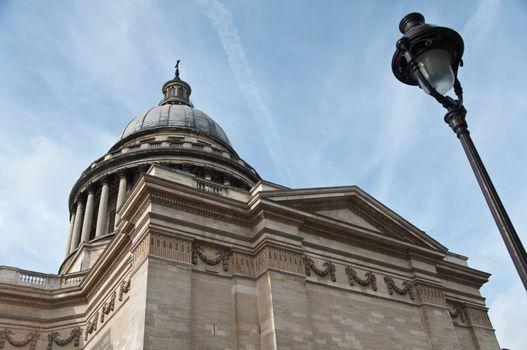 Pantheon monument in Paris - France