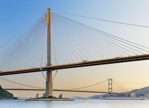 hong kong highway bridge