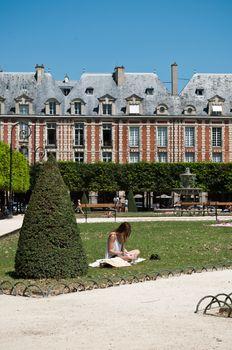 Place of Vosges in Paris