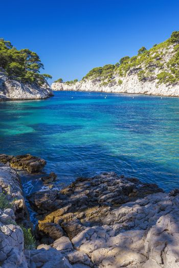 Famous calanques of Port Pin