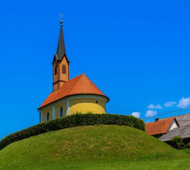 Beautiful chapel in southern Styria, Austria