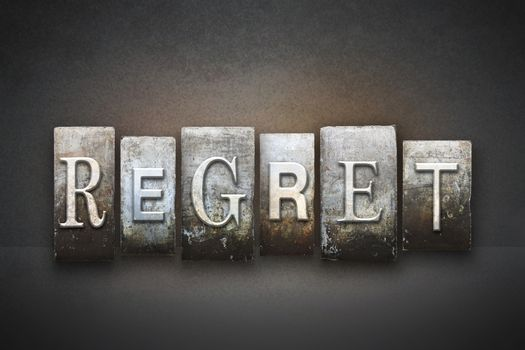 Regret Letterpress