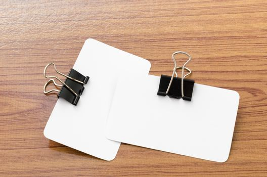 card and clip design