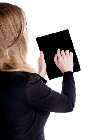 Using touchpad