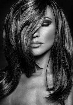 Gorgeous woman portrait