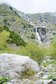 Cascade in La Fouly
