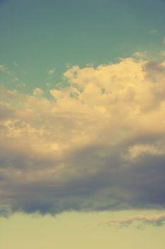 Vintage sky-vertical