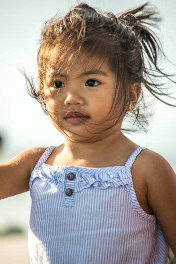 Young Pacific Island Girl