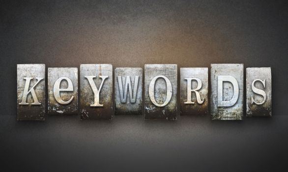 Keywords Letterpress