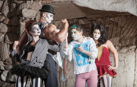 Circus Comedy Performers