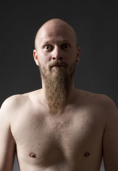 Man with Goatee Beard