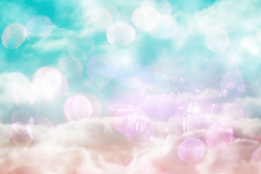 Pink and blue girly design