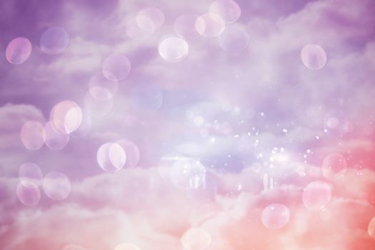 Pink and purple girly design