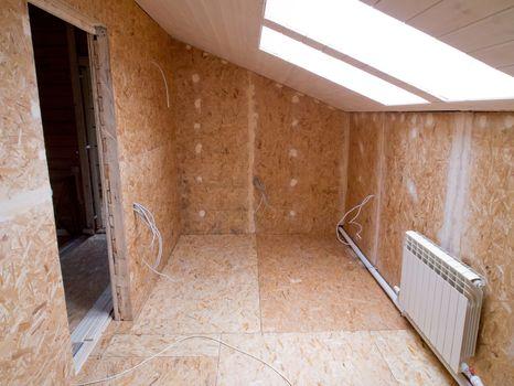 Renovaton of a room