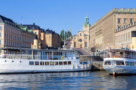 Sweden, Stockholm - The Old Town.