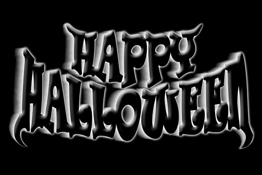 Happy Halloween Art Title