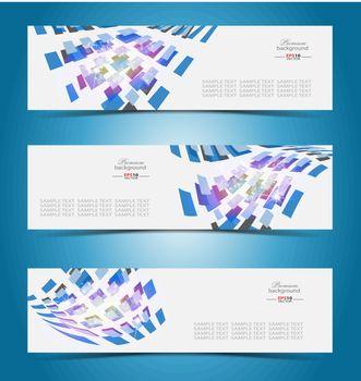 Elegant banner design template for multipurpose use