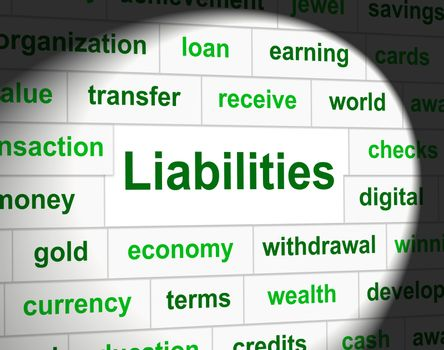 Owe Liabilities Means Bad Debt And Arrears