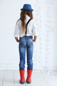 Fashion teenage girl